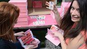 【BTS】矿主拆专!100张防弹少年团Persona实体专,成堆的小卡