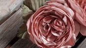 『丝带』使用缎纹面料的vintage风玫瑰胸花的制作 old rose corsage    Nelco neco /ネルコ ネコ【斑豆搬运】