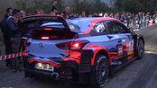 【i20 WRC】2019年第17届圣马力诺拉力传奇赛事 现代车队车手蒂埃里·纽维尔驾驶i20 WRC精彩瞬间集锦
