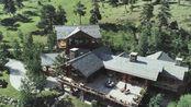 科罗拉多州马鞍牧场的山间传统复古度假大别野---异常土豪