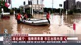 多地遭遇强降雨侵袭 湖北咸宁 强降雨来袭 市区出现内涝