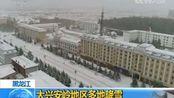 黑龙江大兴安岭地区多地降雪