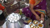 【印度美食】印式咖喱黄豆酱拌鸡蛋特色Ghugni!印度街头美食料理制作