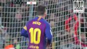 西甲 Messi. 巴萨2-0诶巴 343三四三的秒拍视频