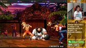 【小孩曾卓君】拳皇97拒绝低保导师战最强猴子高手!小孩vs黄毅 11月13号