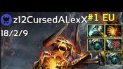 z12CursedALexX plays Clinkz!!! Dota 2 7.21