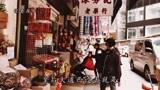 香港西环,皇后大道西,走在街上有点像广州老城区的感觉