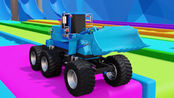 乐享知识乐园 第6季 第676集 玩具铲车经过涂装后驶入集装箱