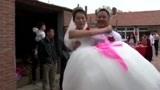 辽宁铁岭西丰县农村结婚视频:新娘真美