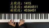 王力宏《你不知道的事》钢琴弹唱教学,这才叫歌