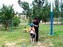 吉林省第二实验高新学校4年15班孙荣勇敢一跳