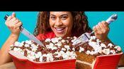 【How To Cake It】巨型红薯棉花糖砂锅蛋糕!感恩节烘焙 如何做蛋糕 尤兰达·甘普 - 20191112