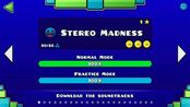 【Mr.Doule/几何冲刺Geometry Dash】 Stereo Madness 1星 满币