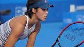 有实力!中国网球一姐王蔷十天两胜前世界第一