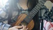 【Bright Sun尤克里里群2017年4月抽奖任务】ukulele弹唱 樱花草 by 辽宁朝阳-苹果