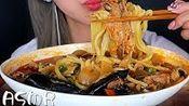 【gg】辛辣的海鮮肉麵條,韓國熱食品,孟邦助眠(2019年10月19日16时16分)