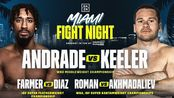 安德拉德 vs 卢克·凯勒 WBO中量级世界拳王争霸赛