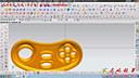 第64节:ug8.5游戏机机壳产品实战画法讲解--案例4