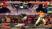 拳皇97:河池Vs黑科技,只用站重腿一招就破了,但能赢吗?