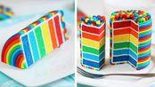 10+最美丽的彩虹蛋糕装饰食谱 如何制作卷饼 美味蛋糕教程【Cake Junkie】 - 20200218