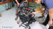 Kawasaki-Z1000 引擎修复