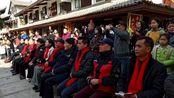 名家书法送万福走进迎泉楼。管让价摄影制作2018年2月6日于江西省宜春温汤迎泉楼