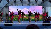 """新疆舞《新达坂城的姑娘》中国石油大学翩然起舞舞蹈队 """"盛世中国""""第二届山东省大赛东营地区海选赛 (谷九展录制)"""
