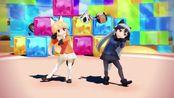 【兽娘动物园MMD】北狐&银狐 - おなかすいたぬき