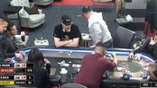 德州扑克 大家一起来ALL IN 中国老板看到底牌后直接走了