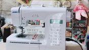【Lily·种草向】重机缝纫机80hp开箱视频+使用演示(终于不用手缝本子啦)
