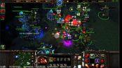 11-5伯虎随机vs007不死族BO5(4场3比1)-各种战术在TS看台地图上呈现