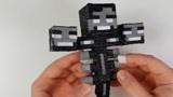 大神玩转3D打印笔,制作我的世界手办,大家能猜到原型吗?