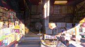 【白噪音】【学习向】【放松】1.5小时/午后的日本书店/夏天蝉鸣声/安静的古本屋/纪念过去的书店