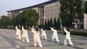 2017年7月26日瑞昌市林业局代表队展示42式太极剑