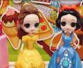 母后让白雪和贝尔看店卖东西,她们会出错吗?儿童玩具