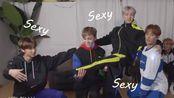 【SEVENTEEN】跳舞时sexy的男人x4