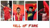 【刘翔·孙杨·张继科·林丹】Hall of fame(燃向混剪)