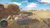 PS4战车世界,金币7级kv-2,点打3247伤,精英手。单发伤害刷新纪录,一炮982