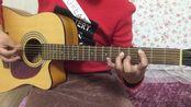 自学吉他第33天:五和弦小乐曲