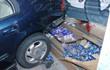 香港一药房遭车辆猛撞 二日内已两度被毁坏