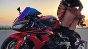 骑着豪爵铃木GSX250R和一群四缸大排们(S1000RR/ZX-6R/959/黄龙600/GPR150)上四明山压弯