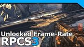 RPCS3 v0.0.7 4K IR Unlocked FPS 子弹风暴Demo i5-8500