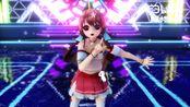 【新科娘MMD】当CCTV新科娘在真·舞台上跳起了旋转吧雪月花!