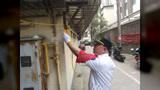 建中街巡防中队 开展辖区消防安全检查