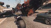 GTA5复古电影enb下的刺激慢镜头展示