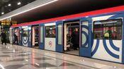 """[莫斯科地铁]15号线 涅克拉索夫线 81-765/766/767.4""""莫斯科2019"""" 涅克拉索夫站出站"""