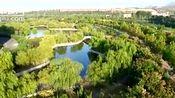 航拍齐鲁师范学院,流水环绕,绿树成林,美不胜收!