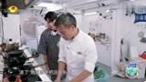 中餐厅:林大厨收拾厨房,棣棣暖心陪聊,两个人都不饿吗?