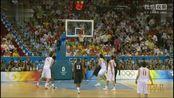 2008年北京奥运会男篮决赛美国VS西班牙上半场,科比韦德是真英雄