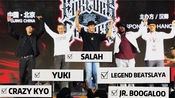 【Forever Dance】街舞大会 裁判秀 judge show :jr .boogaloo /yuki /salah /carzy kyo/legend